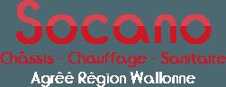 Socano -  Châssis – Chauffage - Sanitaire
